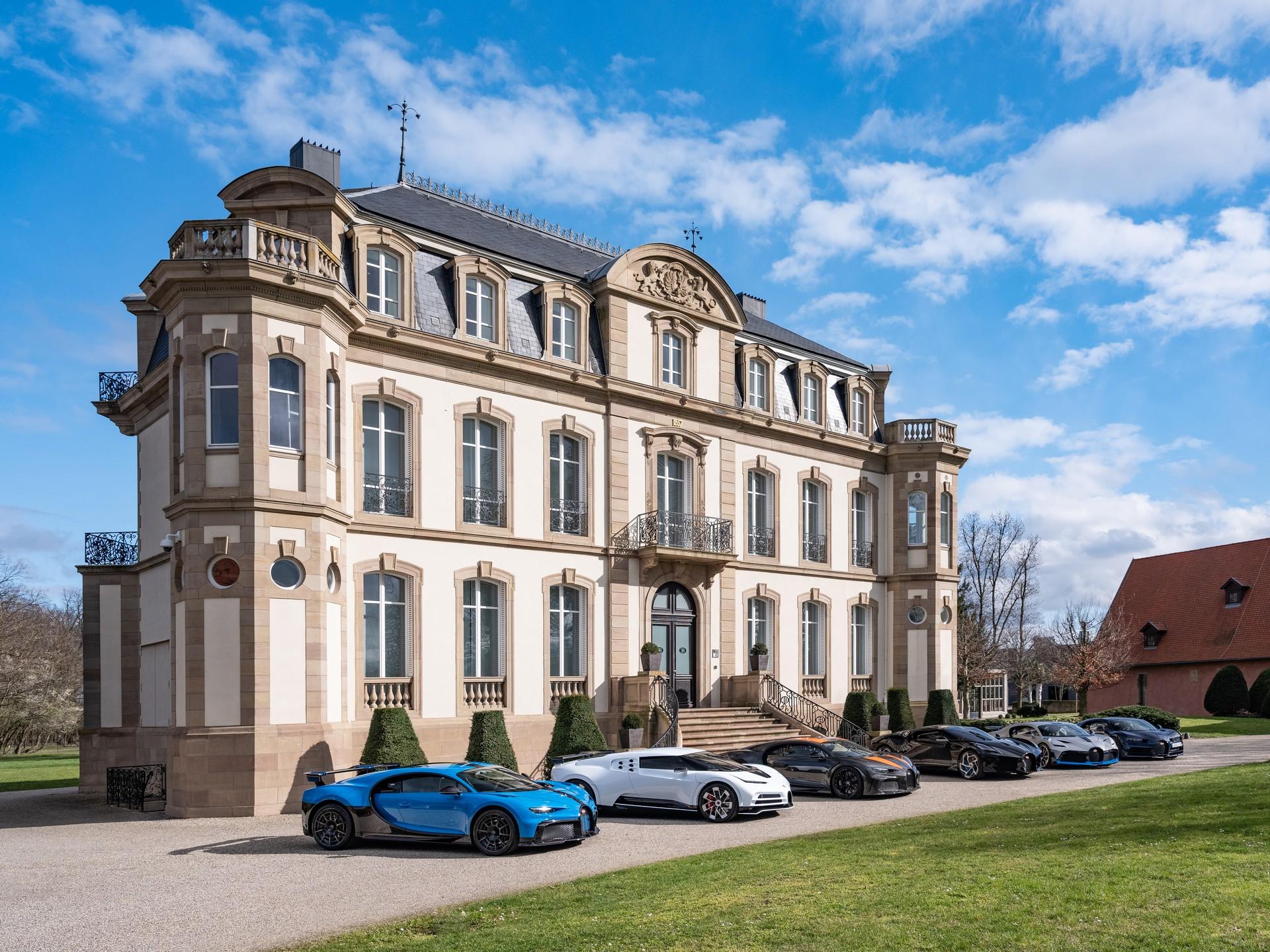 Bugatti - Sześć samochodów za 35 mln dolarów