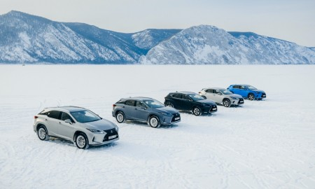 Lexus RX, Lexus LC - Lexusy na jeziorze Bajkał
