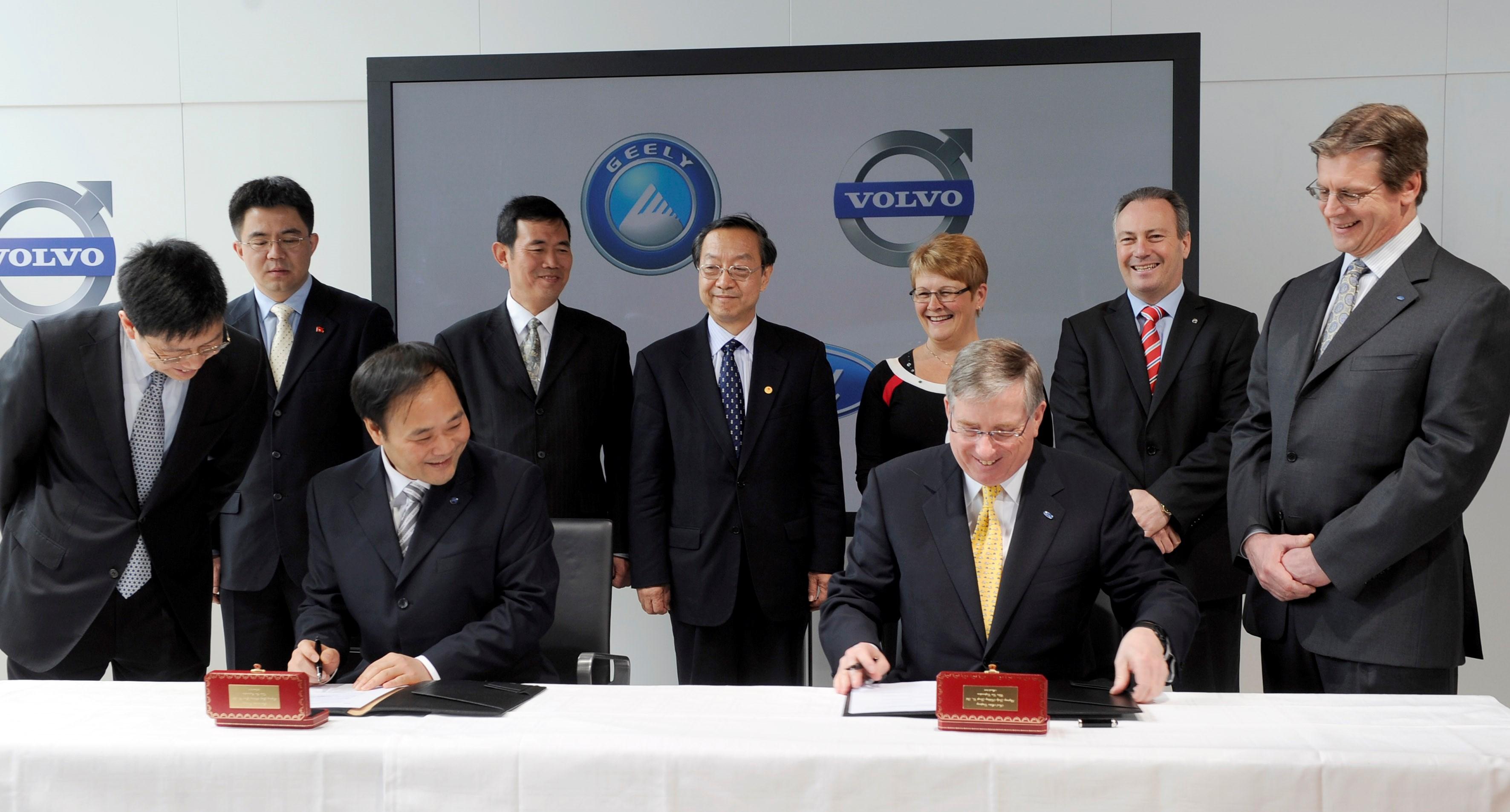 10 lat temu Geely kupiło Volvo Cars