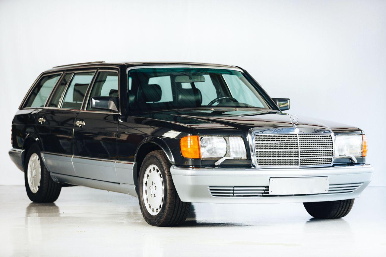 Mercedes 560 TEL, czyli Klasa S kombi