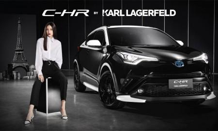 Toyota C-HR w limitowanej edycji Karl Lagerfeld