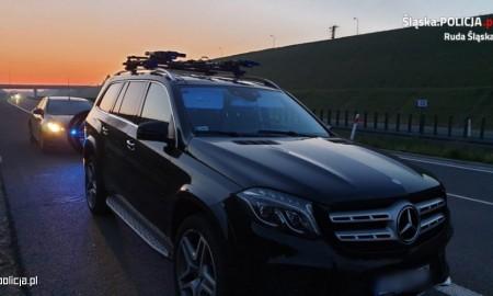 Zatrzymany złodziej Mercedesa za prawie pół miliona złotych