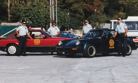 Super auta greckiej policji lat 90.