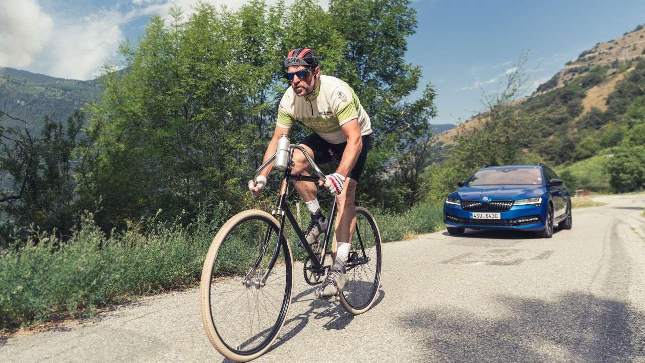 Skoda przypomina swój rower Slavia