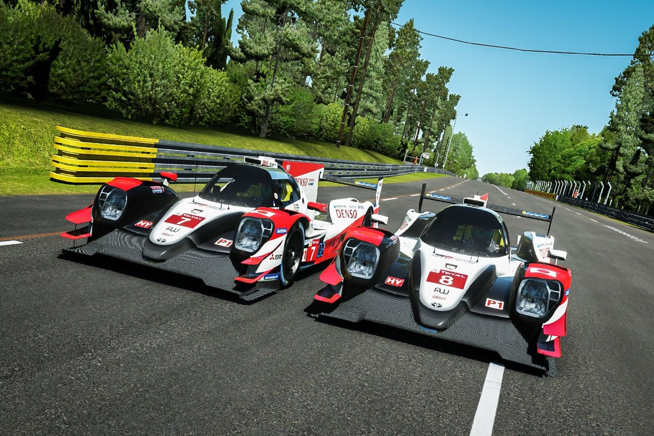 Toyota Gazoo Racing w Virtual Le Mans 24 Hours