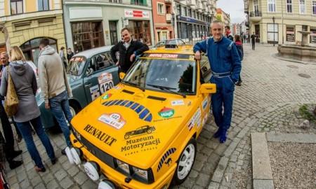 Renault 11 Turbo na trasie HRSMP