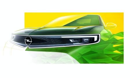 Opel Mokka 2021 – Kolejne szkice