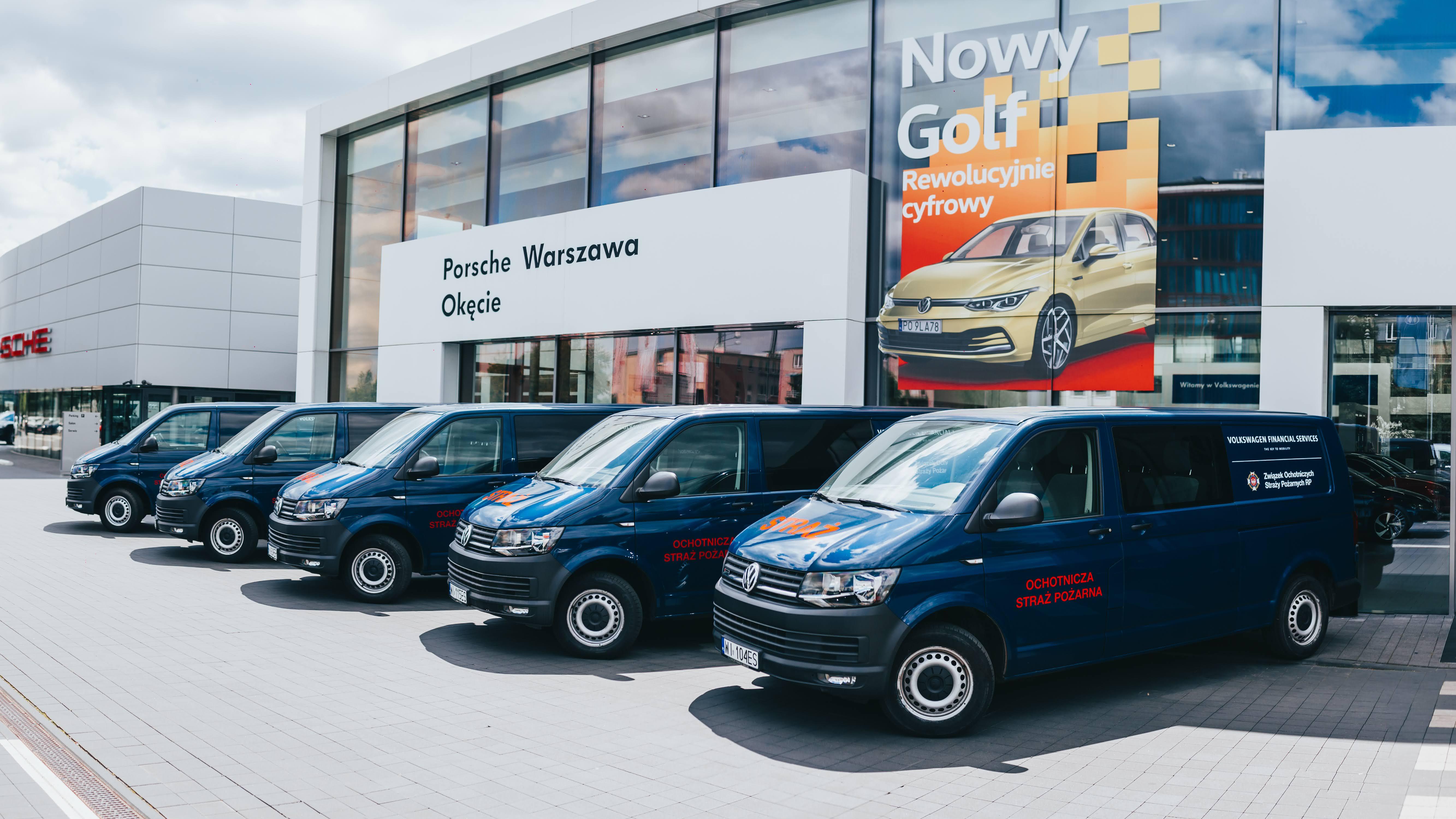 30 VW Transporterów T6 trafi do Ochotniczych Straży Pożarnych