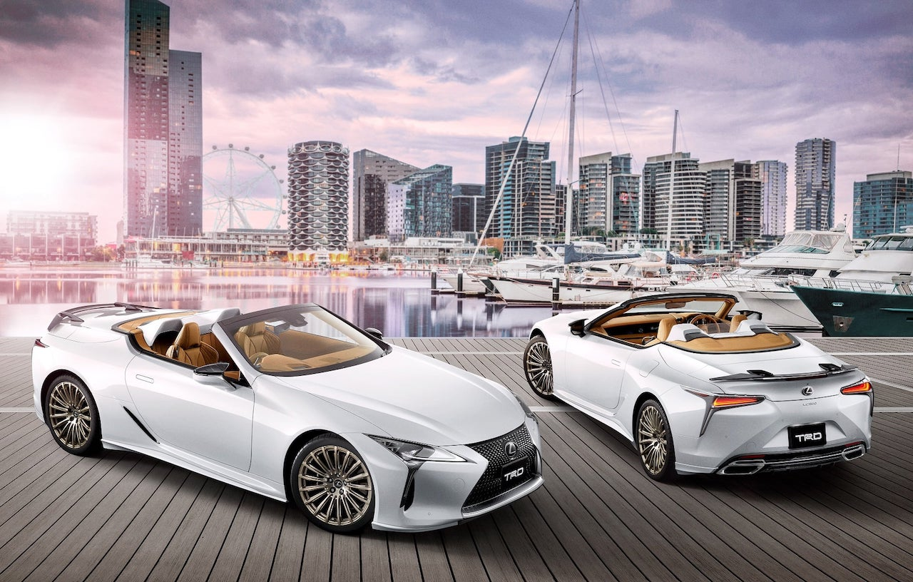 Lexus LC Convertible – Z poprawkami TRD