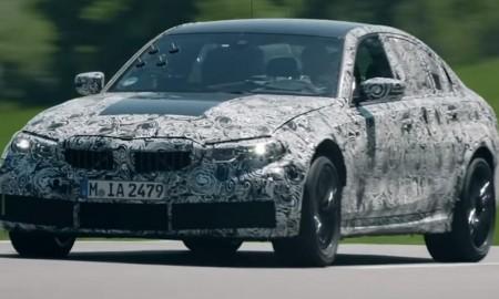 BMW M3 2021 testowane na Nurburgringu
