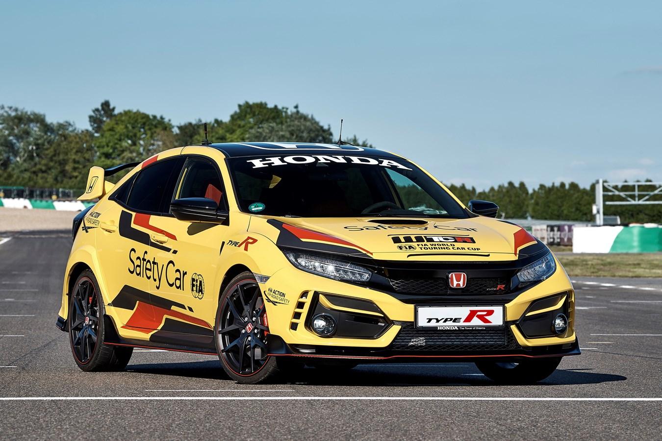 Honda Civic Type R Limited Edition samochodem bezpieczeństwa WTCR 2020