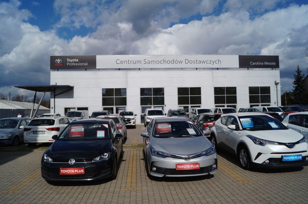 Nowy punkt dealerski na motoryzacyjnej mapie Warszawy – Toyota Professional Wesoła (material promocyjny)