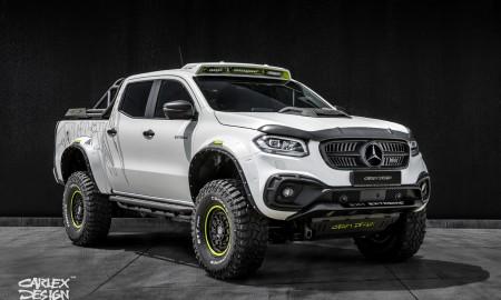 Mercedes Klasa X Exy Extreme+ – W prawdziwy dziki teren