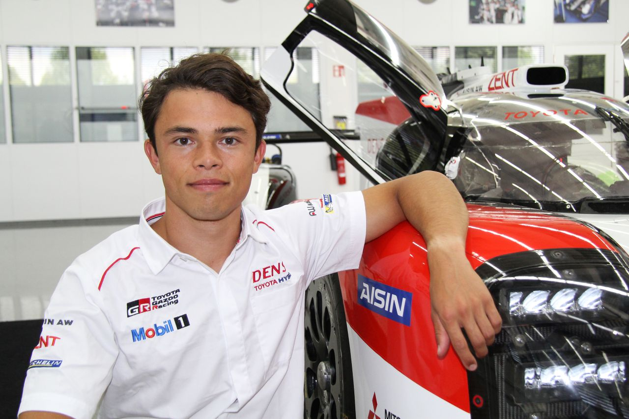 Nyck de Vries dołączył do Toyota Gazoo Racing