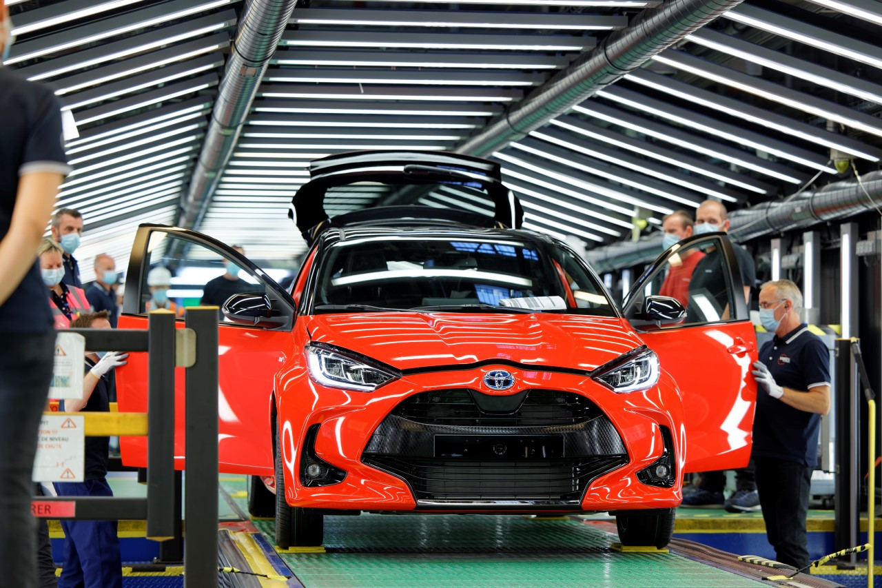 Toyota Motor Europe rozpoczęła produkcję nowego Yarisa