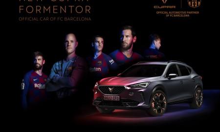 Cupra Formentor oficjalnym samochodem FC Barcelona