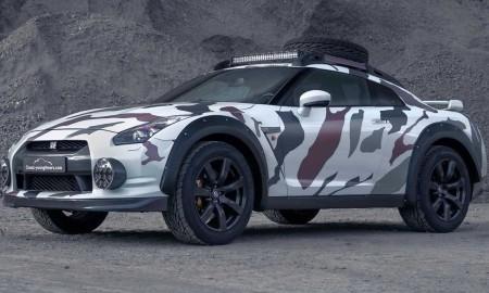 Nissan GT-R Offroad – W terenowym przebraniu
