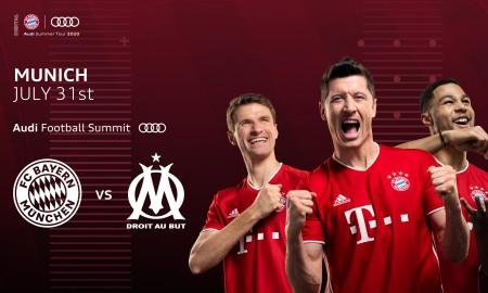 Audi Football Summit: FC Bayern Monachium kontra Olympique Marsylia
