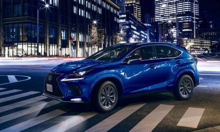 Lexus NX w nowych wersjach