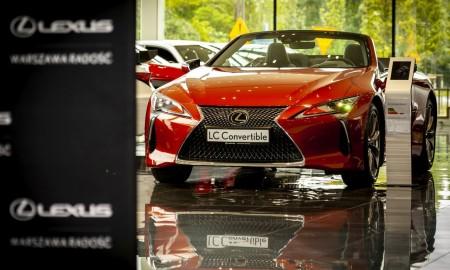 Lexus LC Convertible jest w Polsce