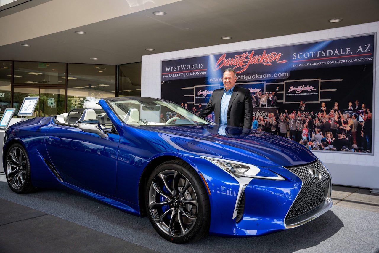 Pierwszy Lexus LC Convertible trafił do nabywcy
