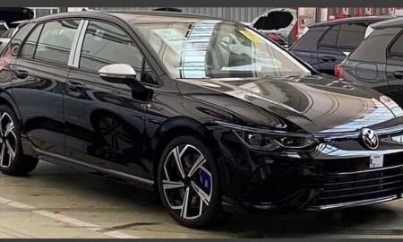 VW Golf R 2021 przyłapany bez kamuflażu
