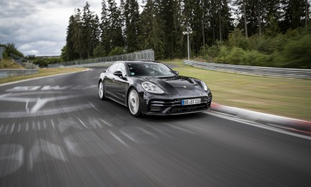 Porsche Panamera z rekordem na północnej pętli toru Nürburgring