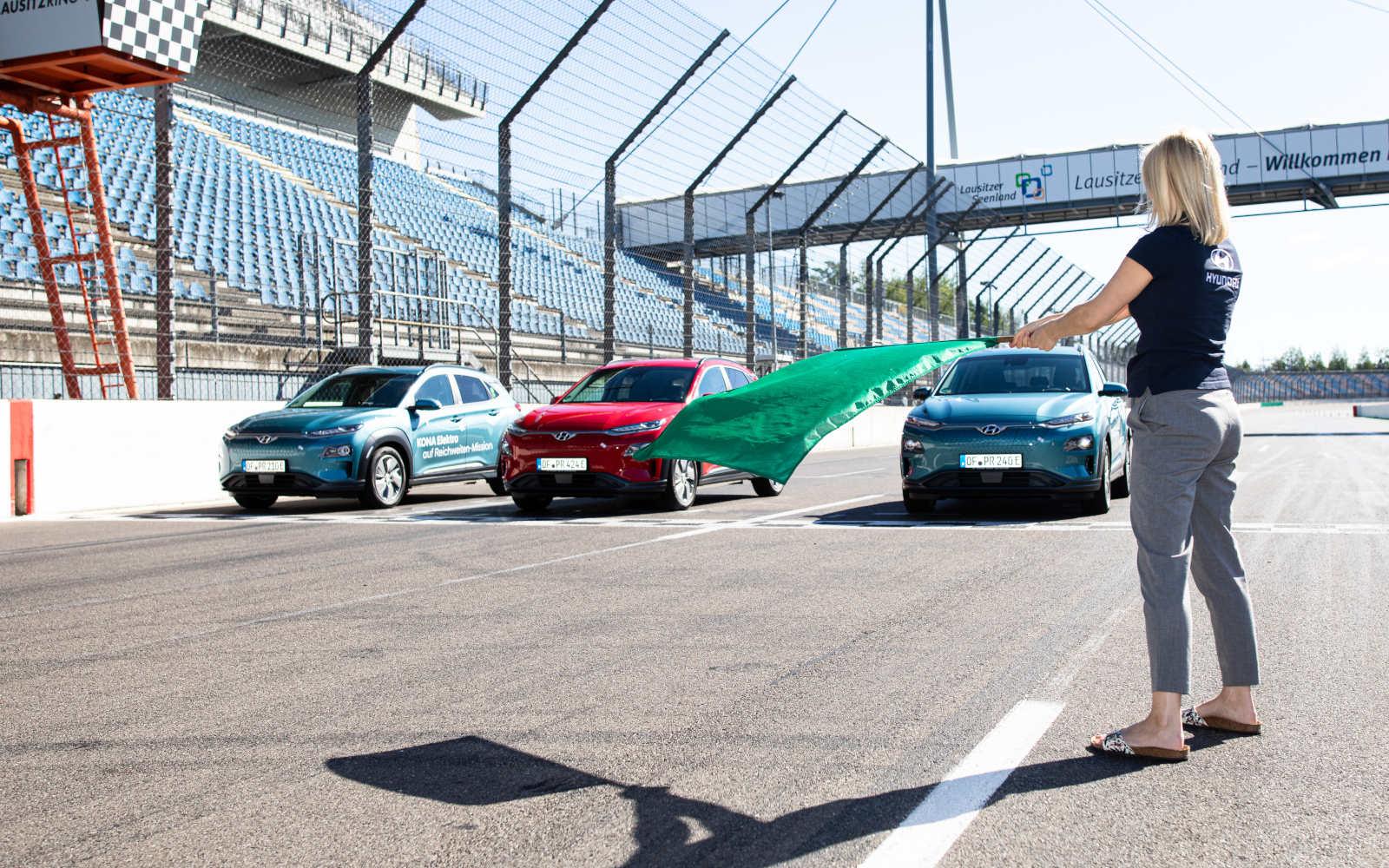 Hyundai Kona Electric z rekordowym zasięgiem 1026 km