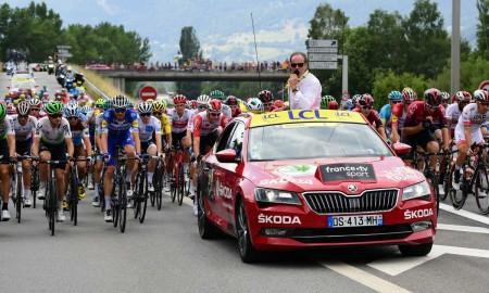 Skoda po raz 17 głównym partnerem Tour de France