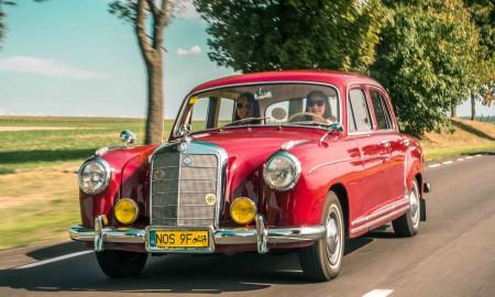 Klasyczne Mercedesy w Janowie Podlaskim