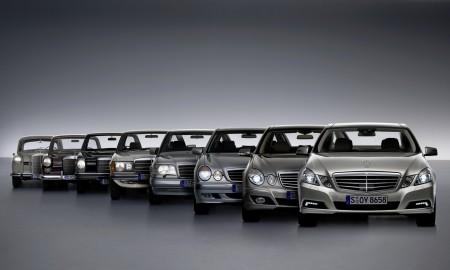 Mercedes Klasy E – Od 1926 do 2020 roku