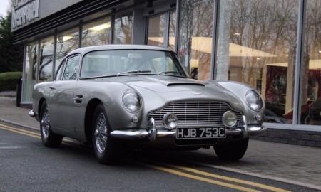 Skradziony Aston Martin DB5 z 1965 r.