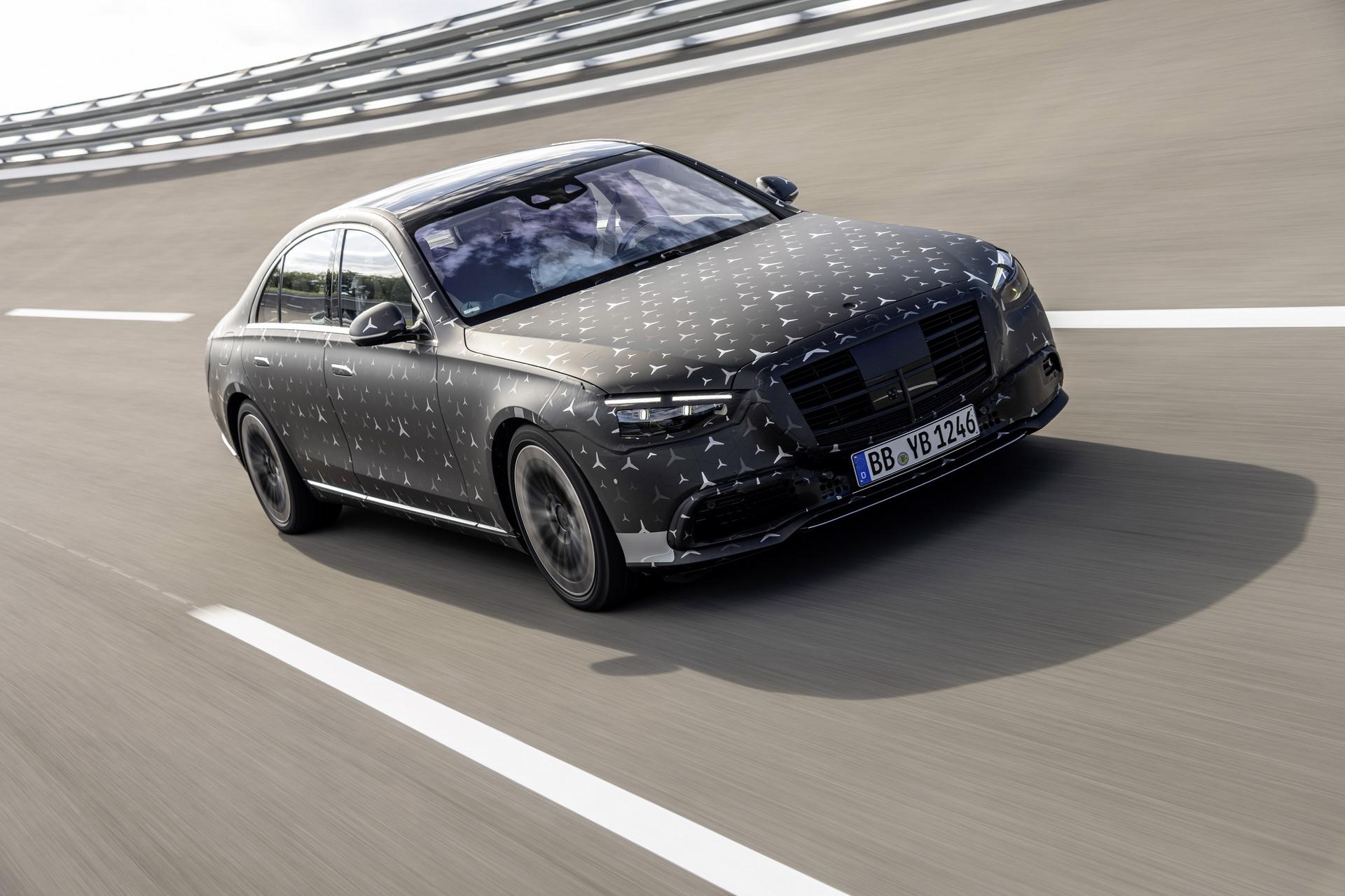 Mercedes Klasa S – Luksus i bezpieczeństwo