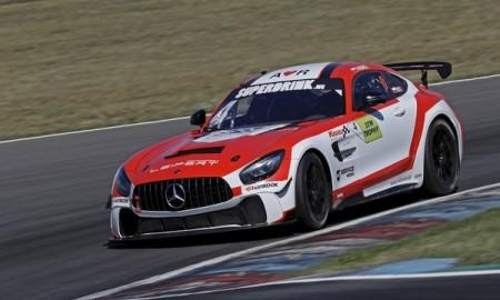 Jan Kisiel w DTM Trophy za kierownicą Mercedesa-AMG GT