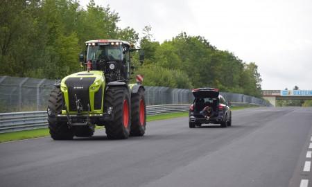 Class Xerion  - ciągnik na torze Nürburgring