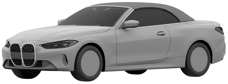 BMW serii 4 Cabrio na zdjęciach patentowych