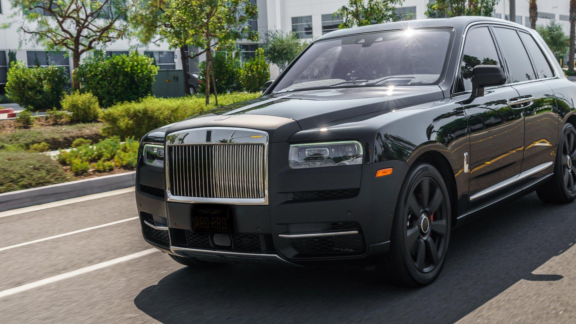 Rolls-Royce Cullinan – Styl i moc