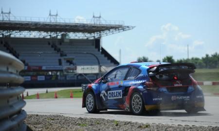 Przygoński wygrał drugą rundę Mistrzostw Polski Rallycross