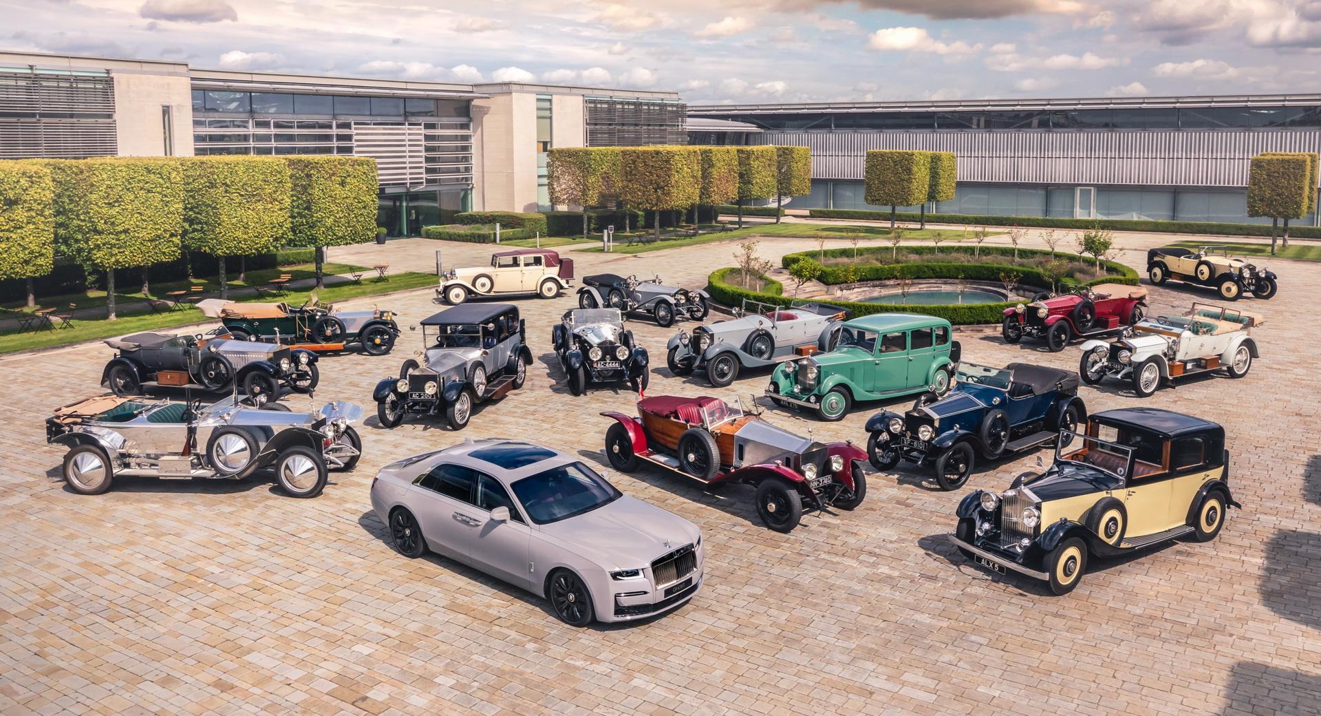 Rolls-Royce Ghost 2021 i słynni poprzednicy