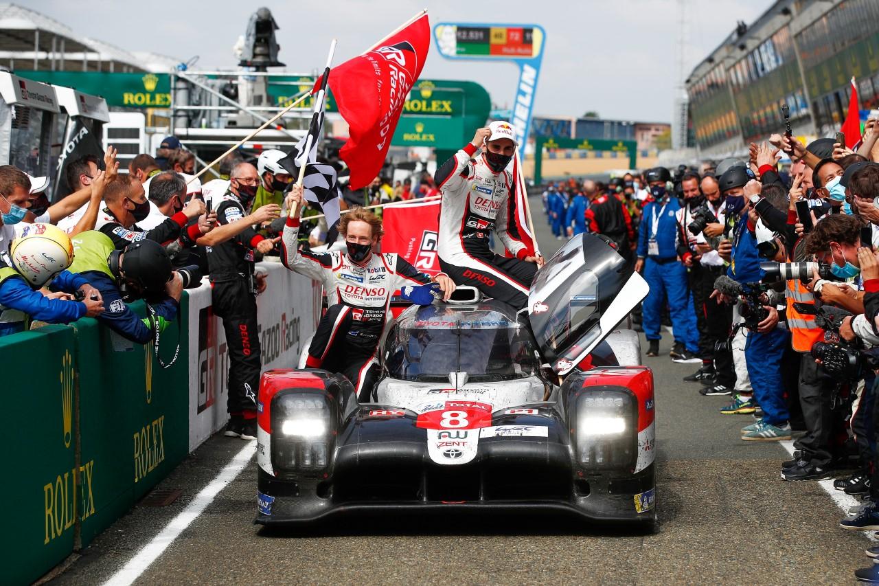 Wygrana Toyoty w Le Mans