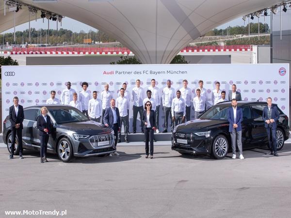 Audi zelektryfikowało FC Bayern Monachium