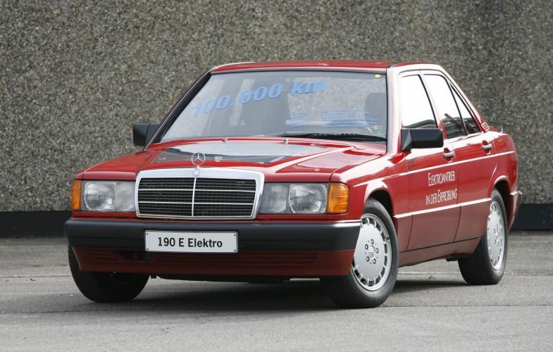 Mercedes 190 - Pionier elektromobilności