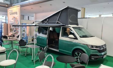 VW California 6.1 podczas Caravans Salon Poland 2020