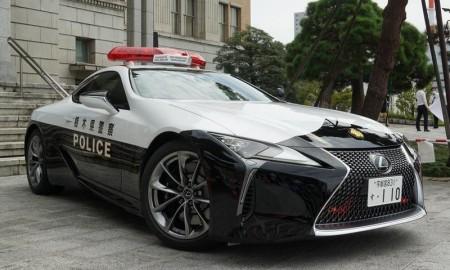 Lexus LC na służbie w japońskiej policji