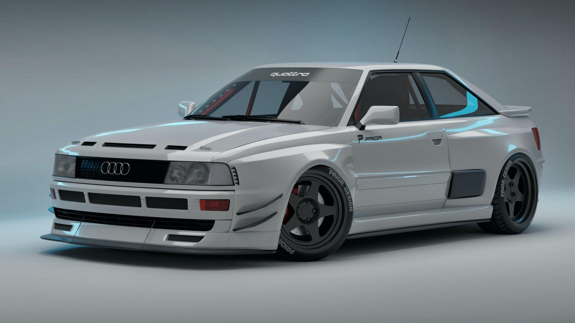 Audi RS2 Coupe - Prior Design naprawia błąd Audi