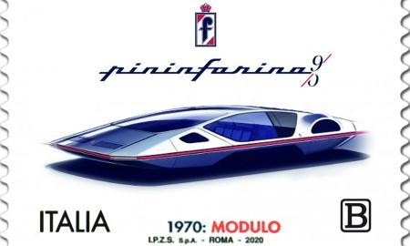 Pininfarina na znaczku pocztowym