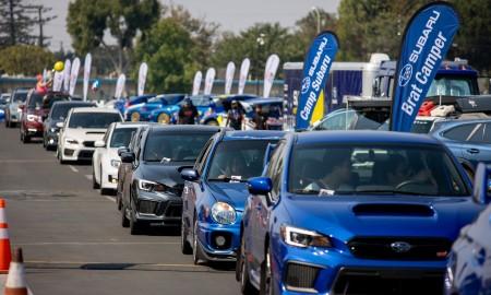 Zlot Subaru z rekordem Guinnessa