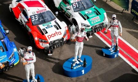Audi z trzema tytułami