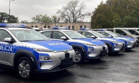 Elektryczne radiowozy w służbie Policji