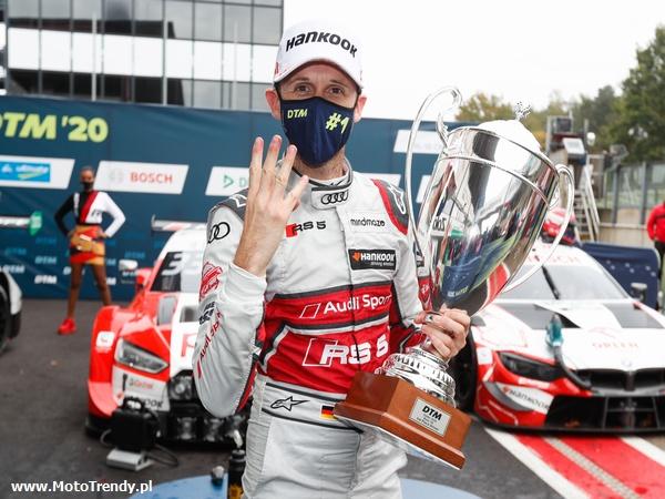 René Rast wygrywa wszystkie cztery wyścigi DTM w Zolder